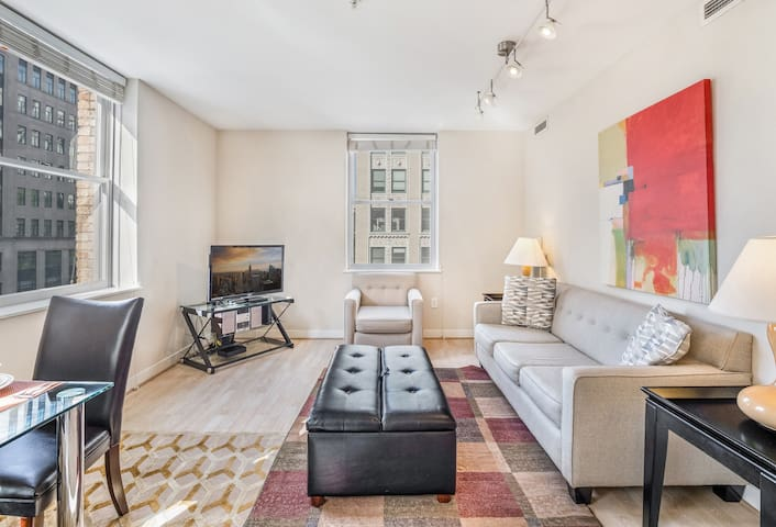 Tastefully Furnished 1BR | Downtown DC | by GLS