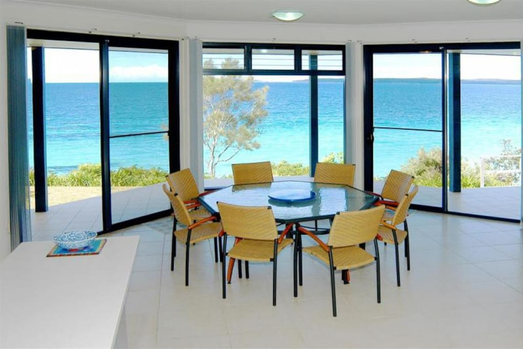 Your stunning beach house is designed to take full advantage of its extra wide frontage directly overlooking the beach