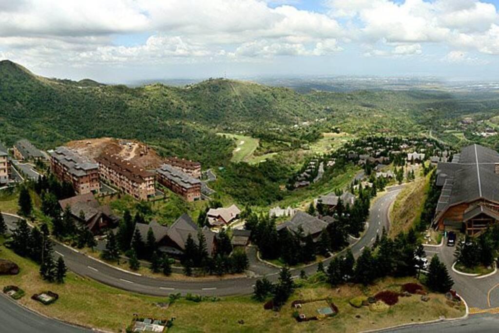 Panoramic view of Tagaytay Highlands