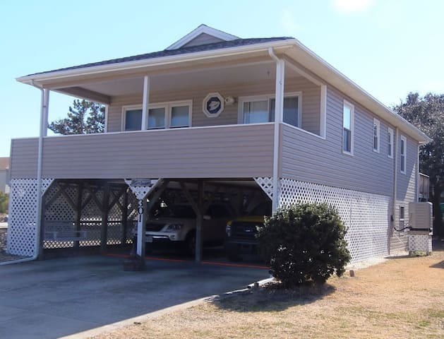OBX Beach Cottage 500 Yards from Ocean and Sound!