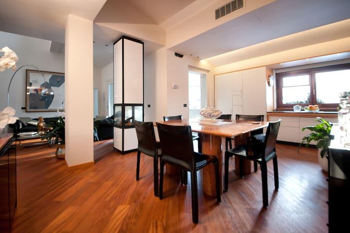Charming  Modern Flat in Bergamo - Bergamo - Apartament