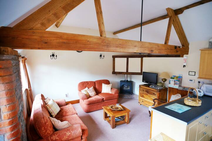 Farmhouse cosy converted barn - Monmouth - Appartement