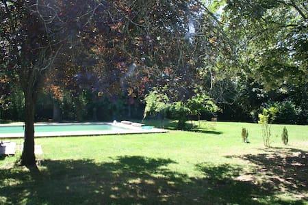 Grande villa avec piscine - Salies-de-Béarn - 別荘