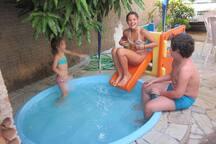 Piscina infantil para passar um bom momento com as crianças