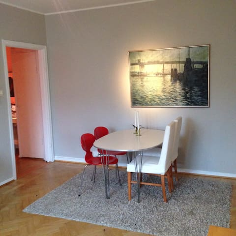 Central apartment between Chalmers and Avenyn! - Göteborg - Appartement
