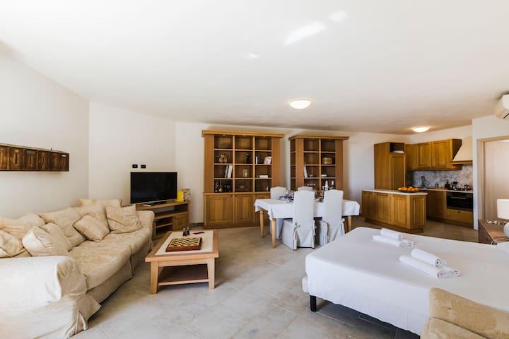 Romantic loft for two