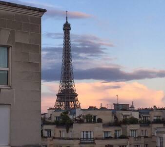 APPT CHIC & MODERNE - VUE SUR LA TOUR EIFFEL - Paris