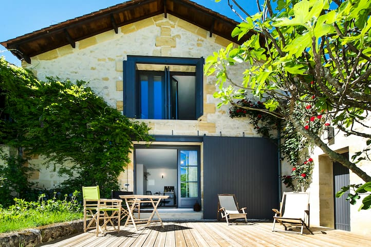 Grande Chambre Privée avec Piscine - Saint-Philippe-d'Aiguille