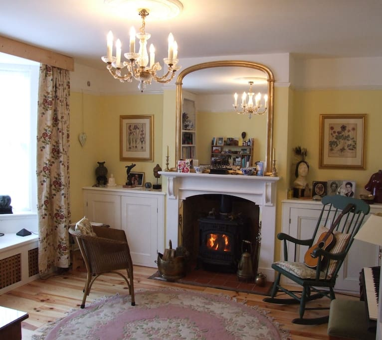 A warm, cosy and traditional room