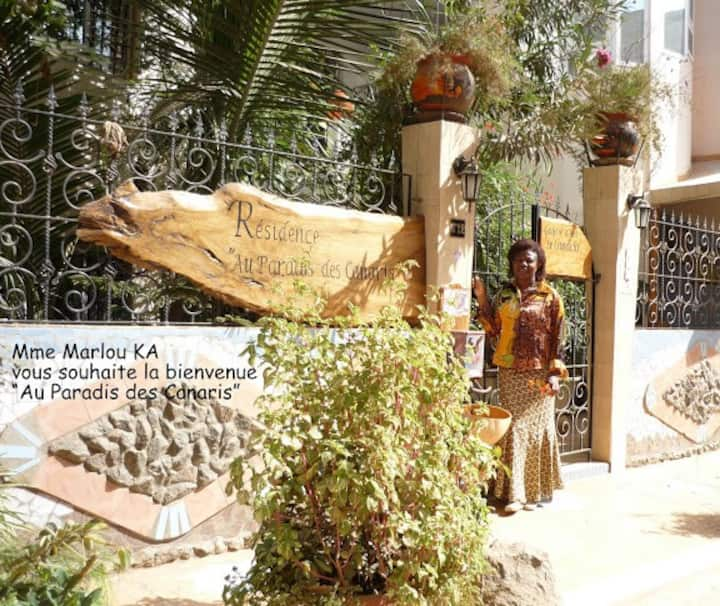 Ecological Apartment in Dakar (160 m²)