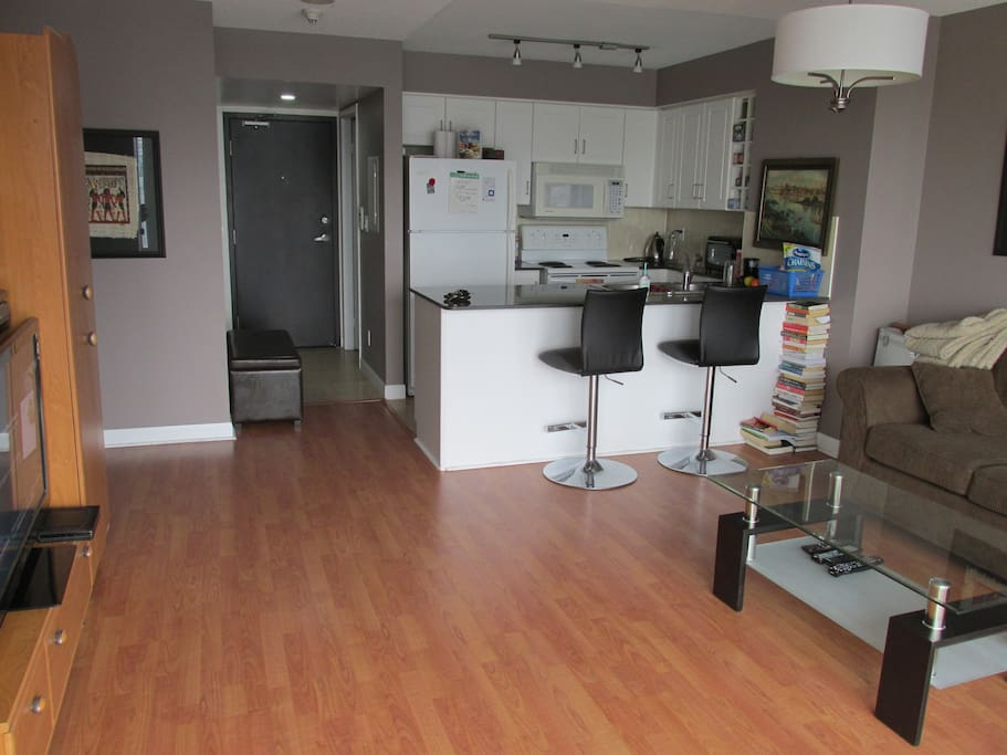 Spacious One Bedroom Condo Flats For Rent In Toronto Ontario Canada