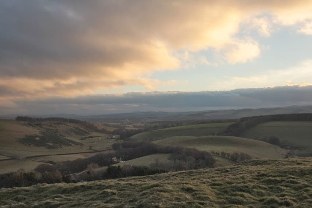 Fancy a farm walk with stunning views of the Borders?
