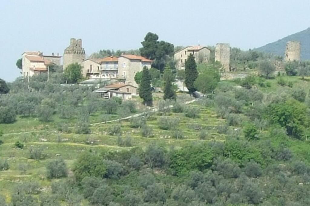 BB nel Castello Fontignano Perugia