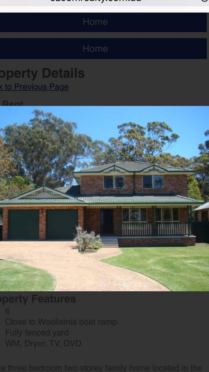 Huskisson, Large spacious home, come and relax
