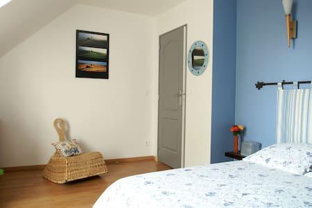 Chambre Bleue privée à Savonnières - Savonnières