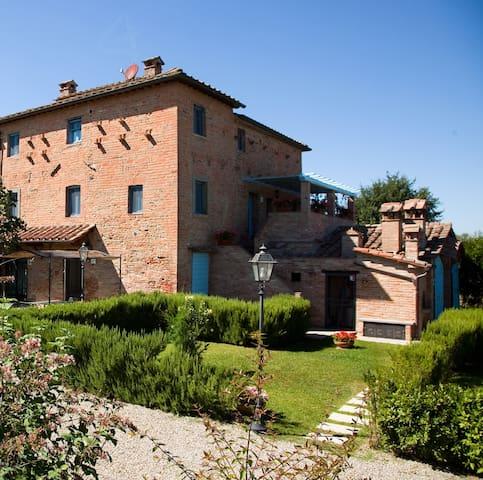 Fiordaliso farmhouse with pool - Montecchio - Leilighet