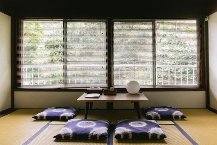 Retreat wabi-sabi, Ohama beach, Shimoda -East Room