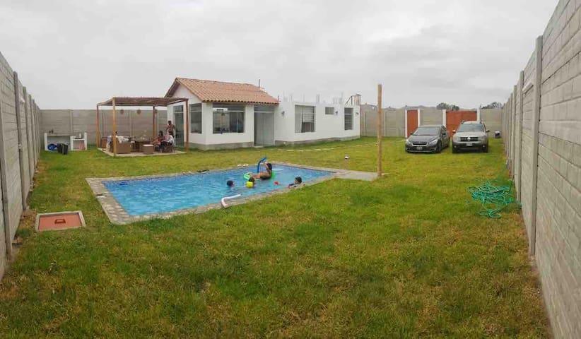 Bella Casa de Campo - Playa en Quilmana Cañete