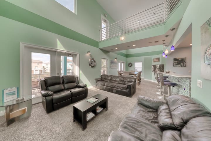 Luxury beach house with sound and ocean views and shared pool access!