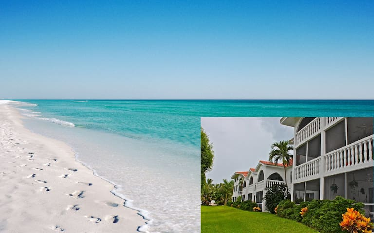 Rare walkout condo on Sanibel beach