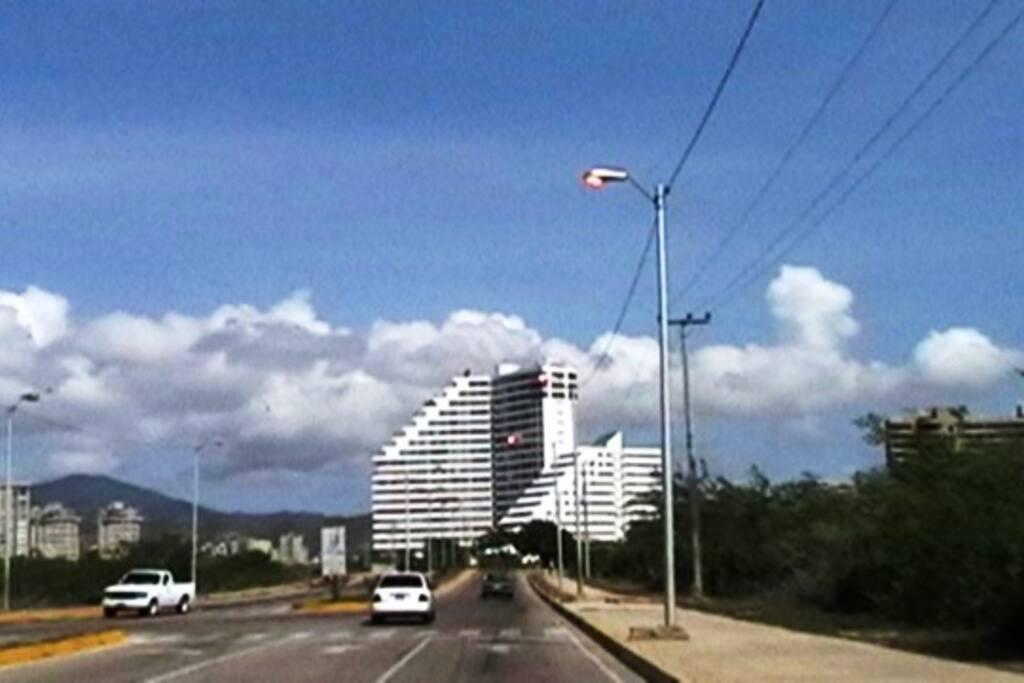 Vista del Edificio Residencias Bahía del Morro II