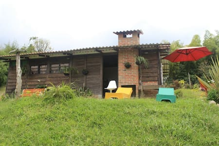 Cabañas Vía Termales Santa Rosa - Santa Rosa de Cabal - Домик на природе