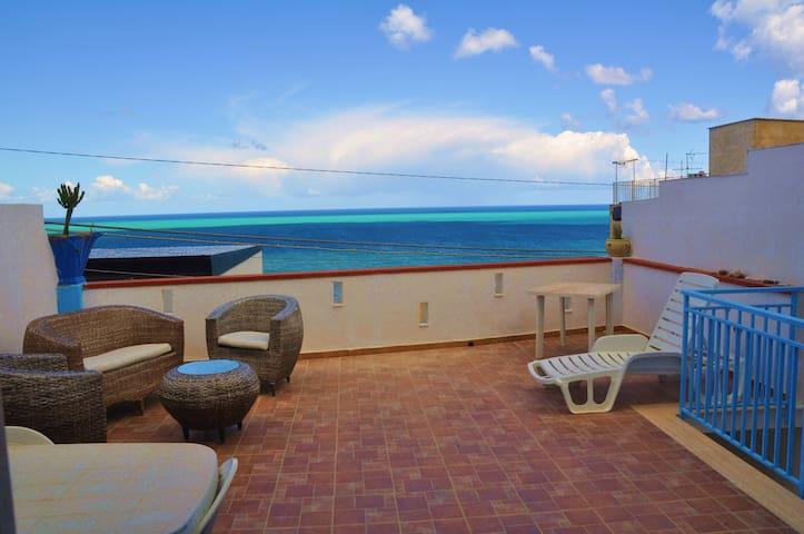 Casa AlcamoMarina vicina al mare splendida vista!