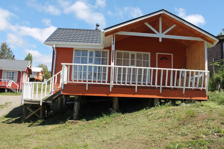 Cabaña con acceso al mar