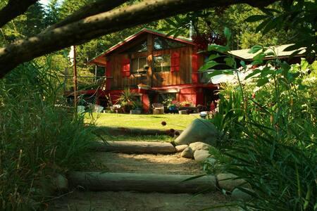 Dble Rm w/2meals pp@Yoga Sanctuary - Duncan