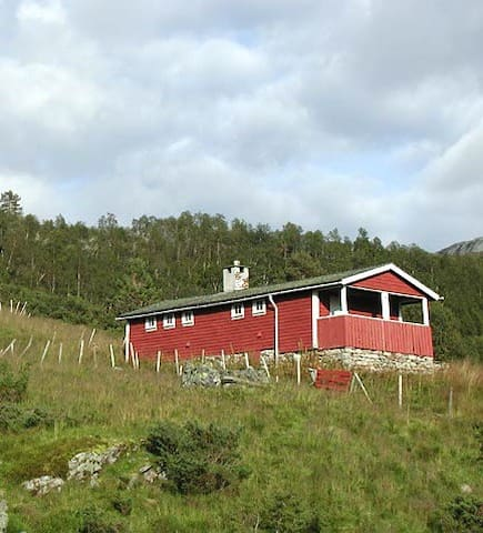Old-fashioned norwegian cabin - Voss