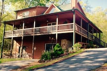 Country Pine home,  Guests accommodations, Lg second floor Master Bedroom Suite with TV viewing area, comfy. recliners. Master Bath, loft with refrigerator, coffee pot, etc As of 7/1/19 A Georgia St. BNB Tax of 12% req. per night due upon arrival