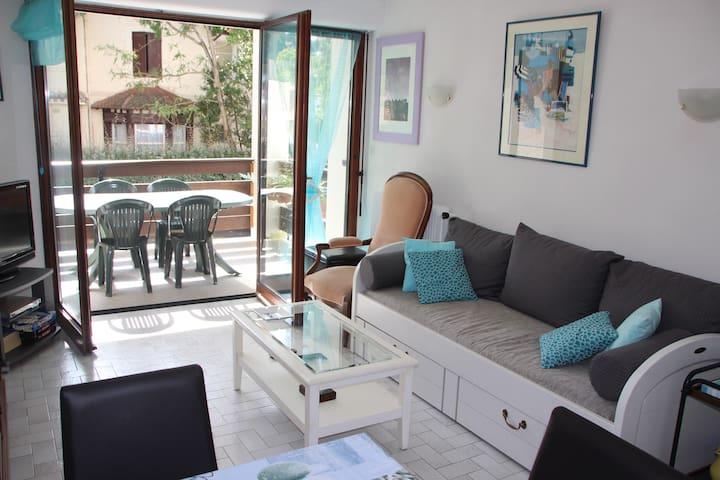 Appartement T2 au calme, à 80m de la plage Pereire