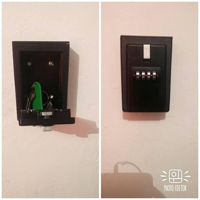 Entrada/check in 24/7, las llaves se encuentran en una caja con clave de seguridad.
