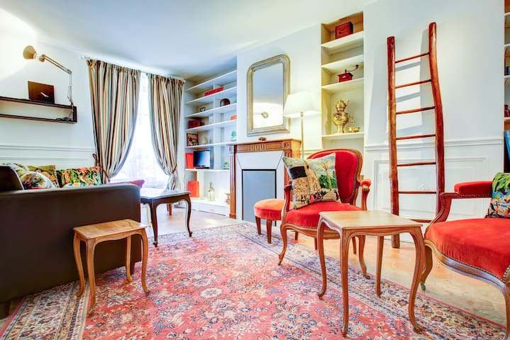 Lovely 2 bedrooms  - Le Marais (4P)