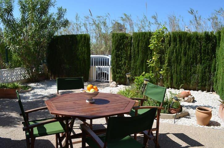 2-bedroom_private garden_beach 250m - Denia - Apartamento