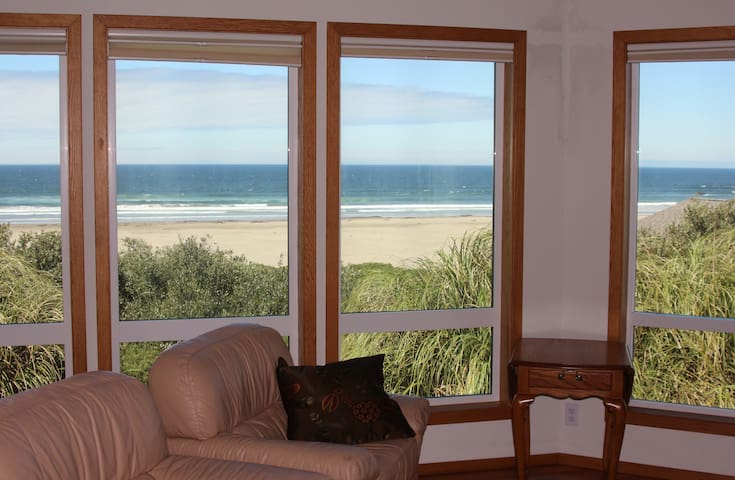Pacific Panorama - Sweeping Views! - Bandon - Hus