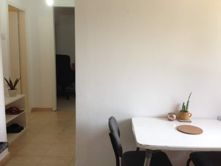 Light & bright 2BR Apt In Beer Sheva ✦Free parking