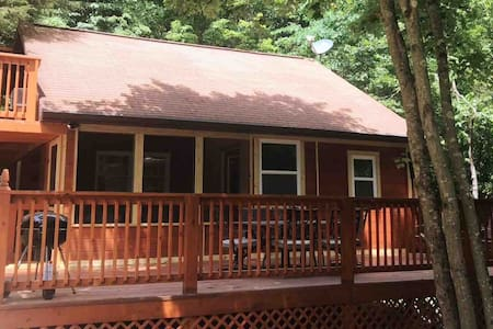 New Listing Boone Ridge Cabin 1.6 m to Patoka lake