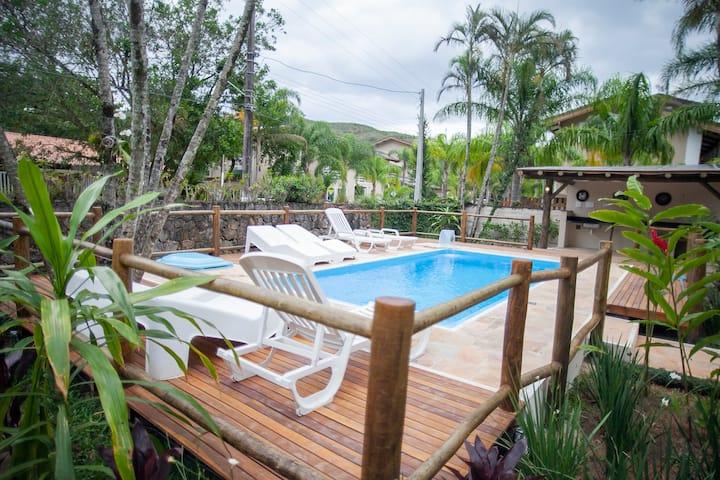 Casa Paraíso - Novidade: Piscina Climatizada!