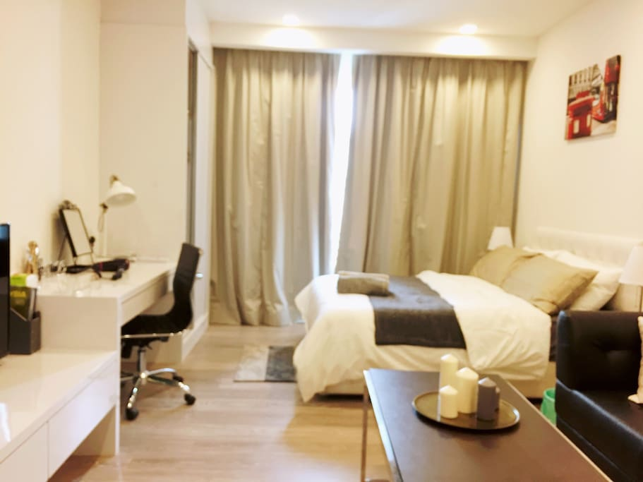 cozy and comfortable stay with fiber optic internet