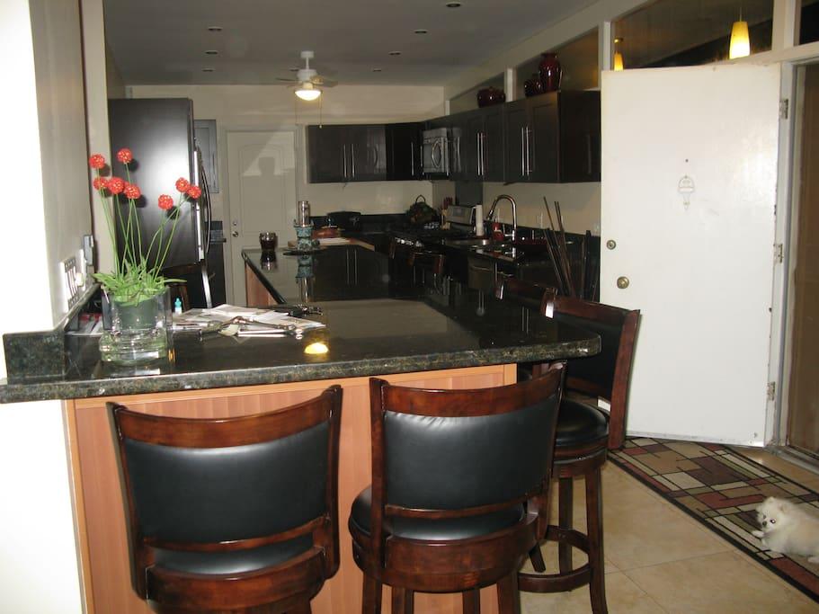 Bar Area/Kitchen