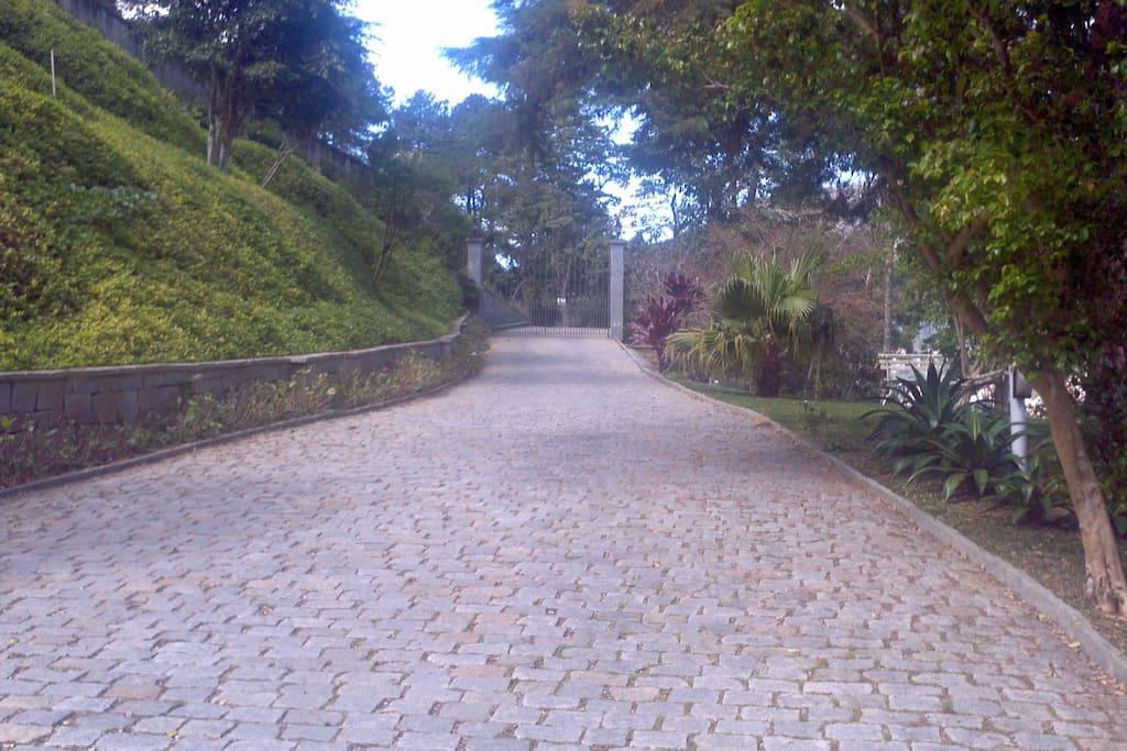 Imagem da entrada principal