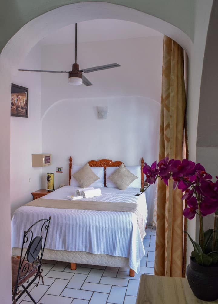 Hotel Bucaneros - Queen Bedroom with Balcony #102