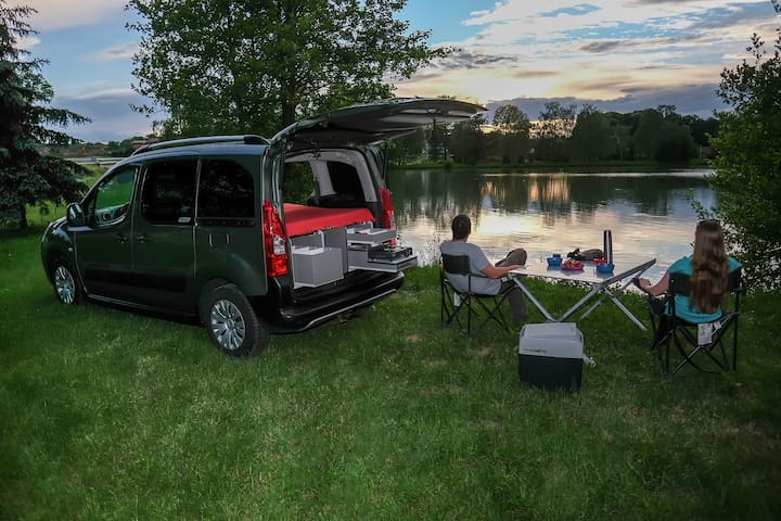 VanMan - explore Croatia in a mini camper van