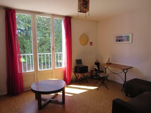L'atout de salon est selon moi sa luminosité comme pour le reste de l'appartement.