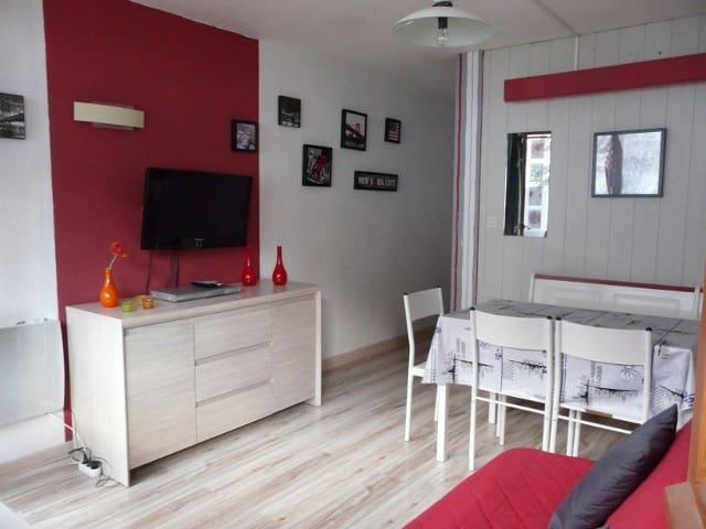 Studio pied des pistes avec balcon - Bagnères-de-Bigorre - Apartament