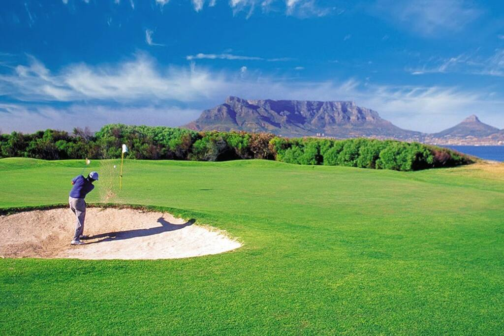 Milnerton Golf Course on our doorstep