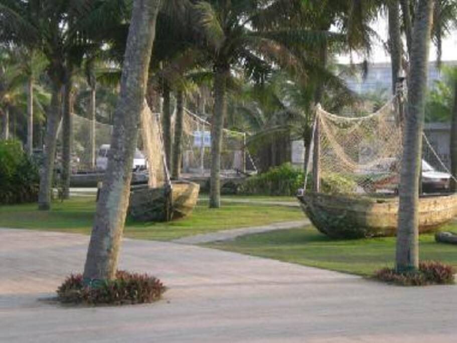 beach front garden