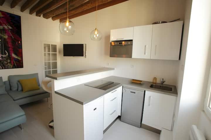 Dreamlike studio flat in Le Marais