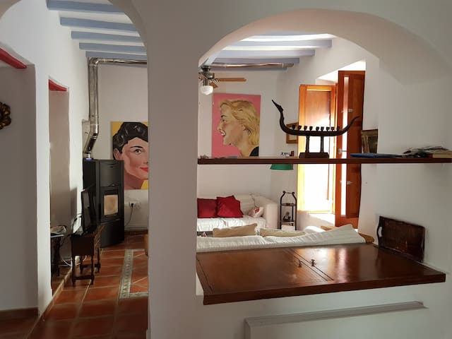 Beautiful old town house in Altea